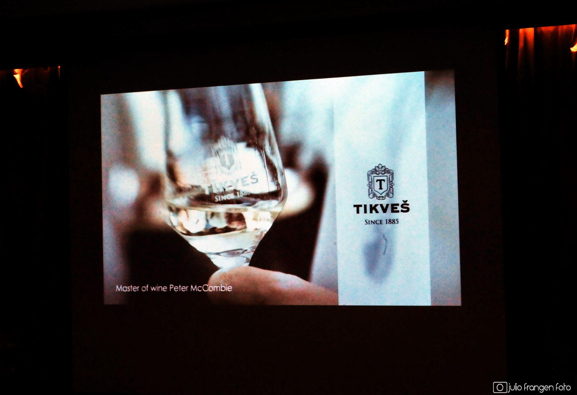 Tikveš Wine Experience & MW Peter McCombie