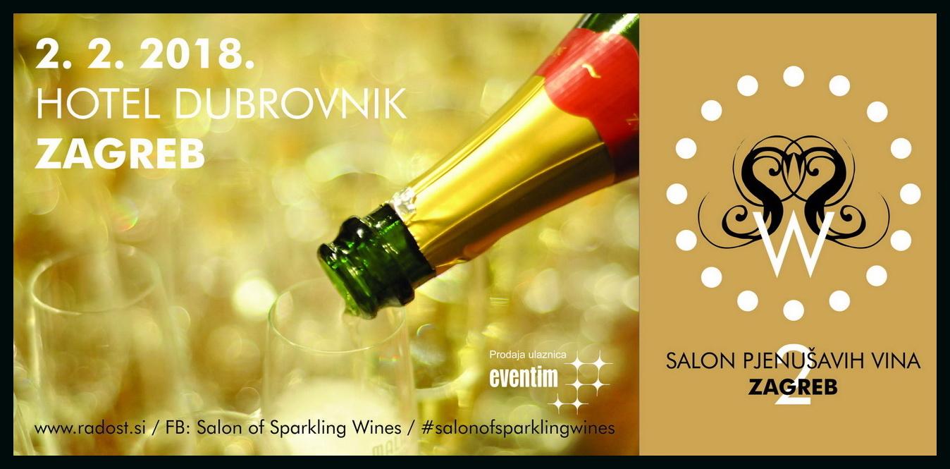2. Salon pjenušavih vina u Zagrebu