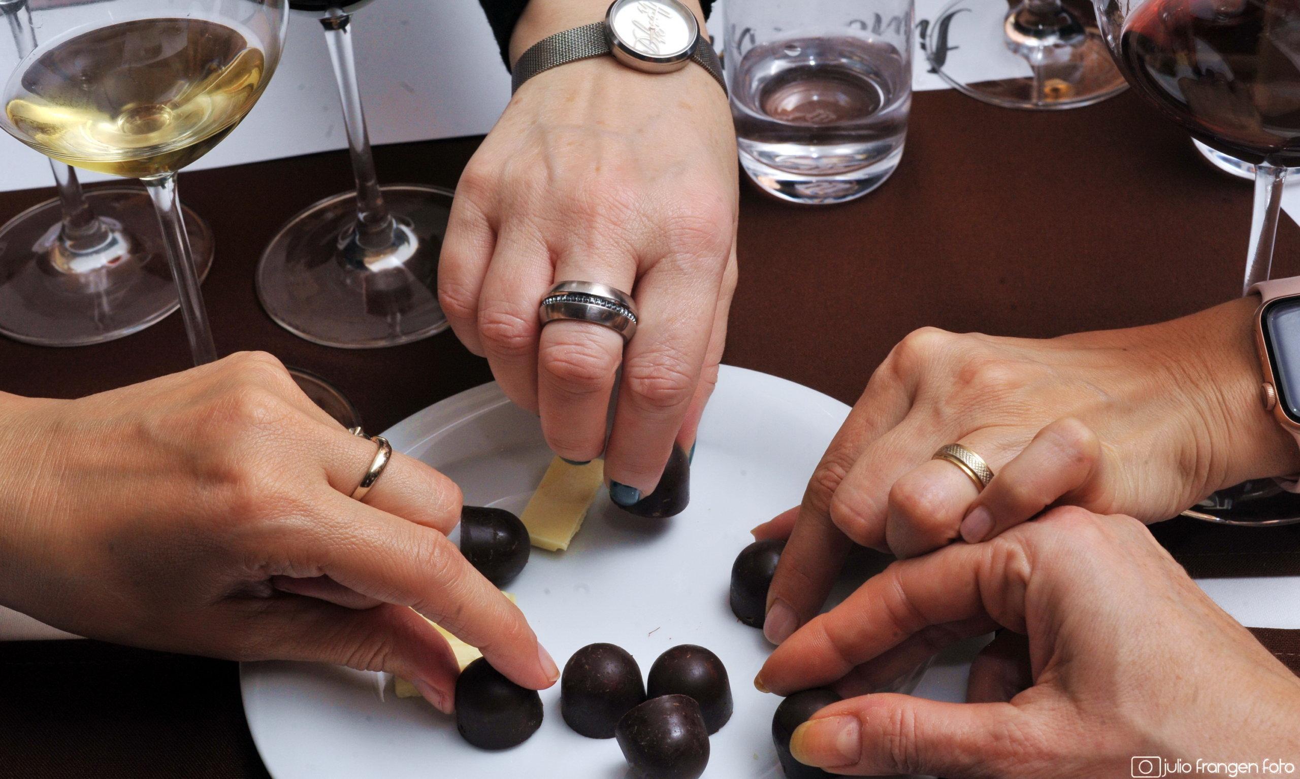 Vino & slatko #2:  ljubav vina i čokolade: pravila ili igra?