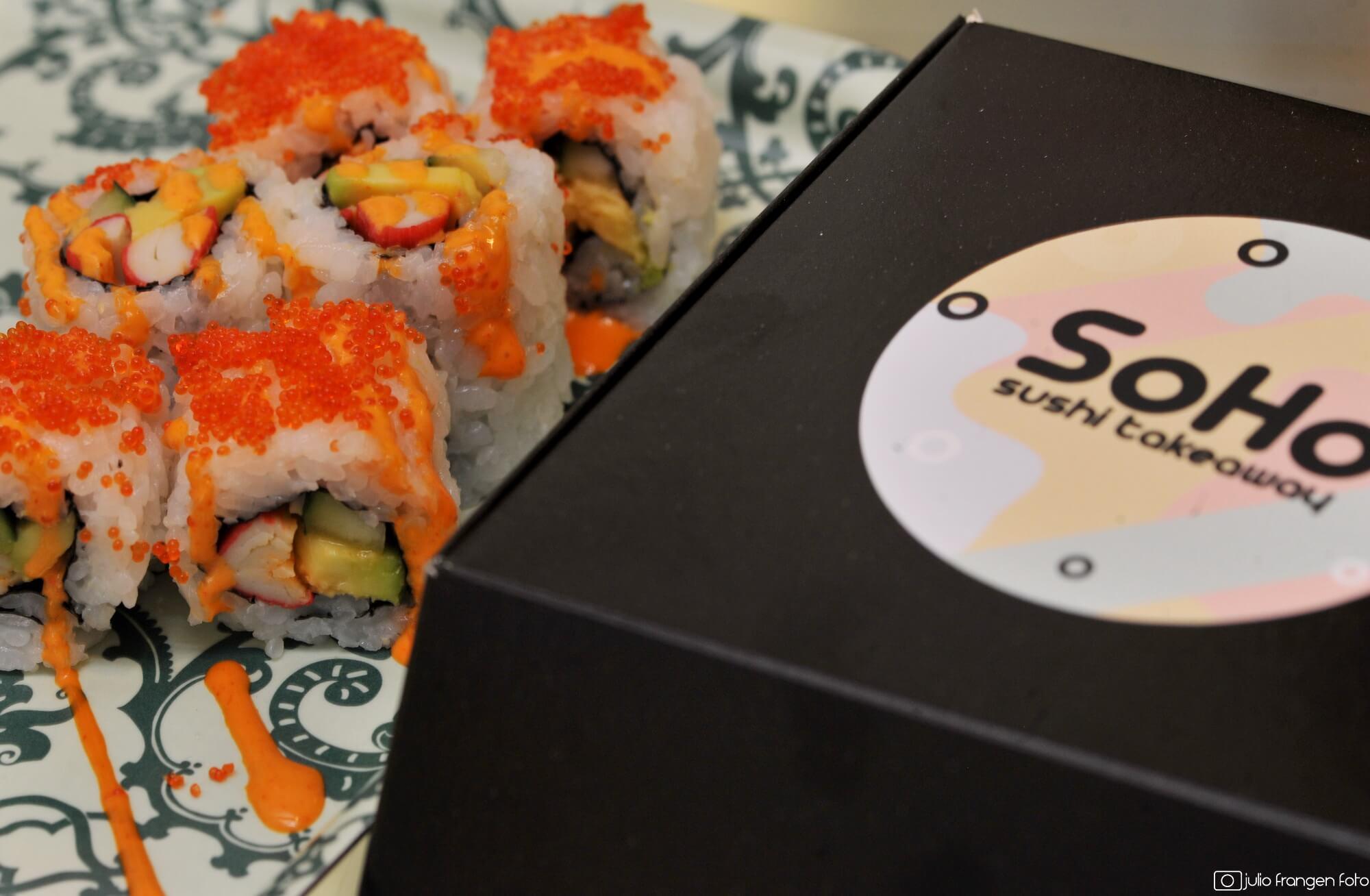 SOHO novi sushi bar u centru grada!