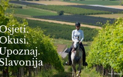 Osjeti. Okusi. Upoznaj.  – dođi u Slavoniju!