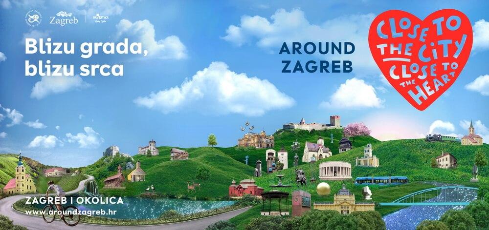 Blizu grada, blizu srca – Around Zagreb!