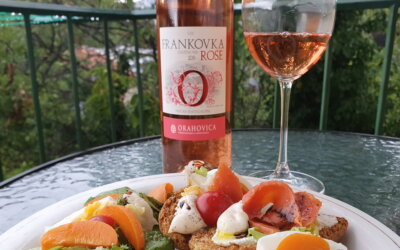 Rosé na balkončiću by Marija #1: losos boja!