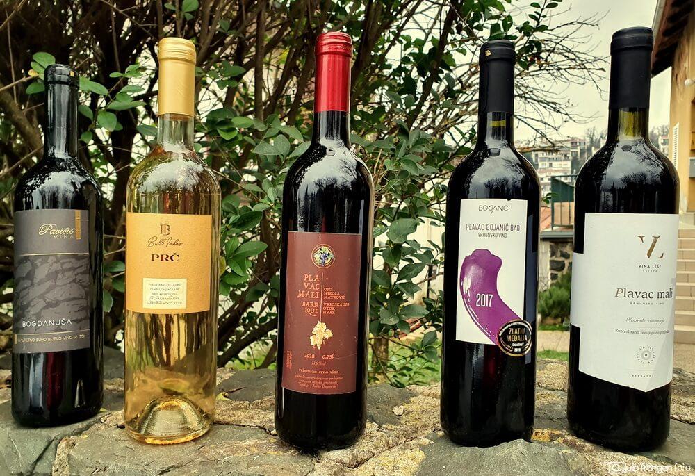Pet vina mladih hvarskih vinara