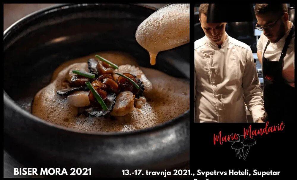 Do daljnjeg odgođen gastro festival Biser mora 2021!
