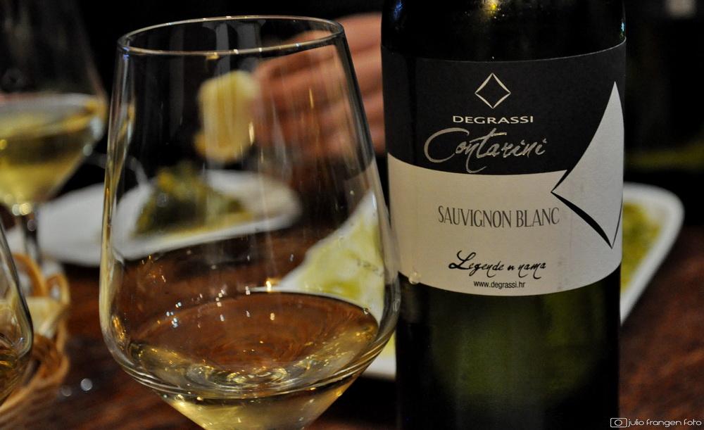 Degrassijev Sauvignon blanc 2017 elegantno je i osebujno vino!
