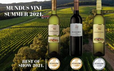 Izuzetan uspjeh vinarije Kutjevo na Mundus Vini Summer Tasting 2021!